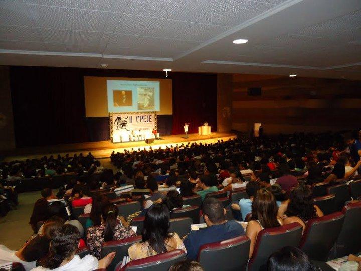 Na cobertura do 2º CPEJE / Teatro da UFPE