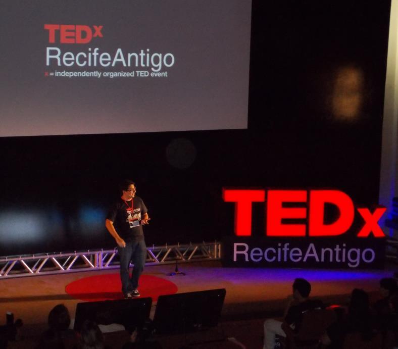 Primeiro TEDx de Pernambuco: TEDxRecifeAntigo 2012