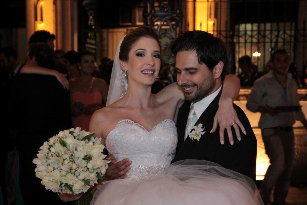 Na cobertura do casamento | Foto: Luiz Fabiano