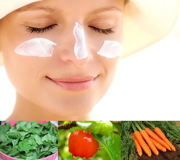 Alimentos fotoprotetores são aliados da pele
